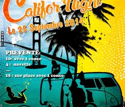 Califor'night ! Le 25 Septembre 2015 !