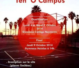 Tournoi de Basket Ten'O'Campus