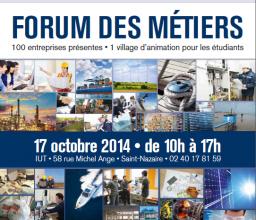 Forum des métiers le 17 octobre à l'IUT
