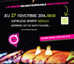 Sport'O'Campus, le 27 novembre ! Gratuit !
