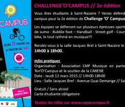 Challenge'O'Campus !