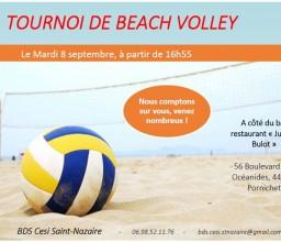 Le Bds Ei-cesi St-Nazaire vous propose un Beach Volley
