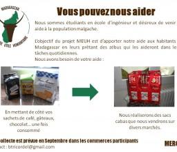 Projet Madagascar Échange Utile et Humanitaire