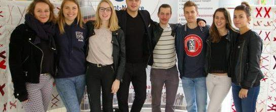 Etudiants Lettons à l'IUT