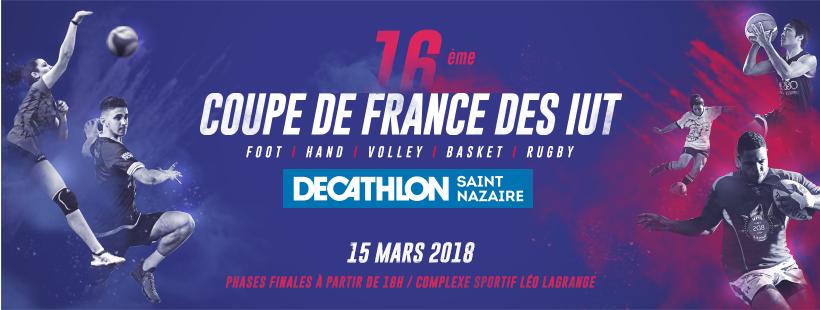 Coupe de France des IUT @ IUT de Saint-Nazaire  | Saint-Nazaire | Pays de la Loire | France