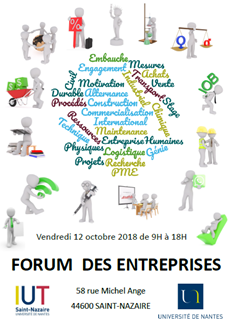 Forum des entreprises @ Saint-Nazaire | Pays de la Loire | France