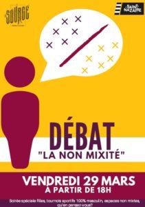 """Débat """"La Non Mixité"""" @ La Source"""